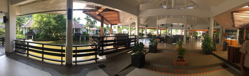 Peace Laguna Resort - Lobby Area